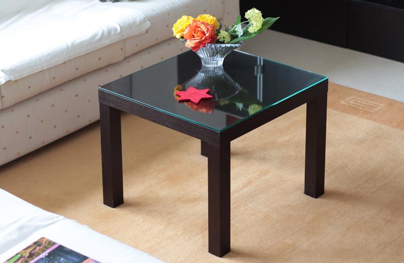 praktische glasplatte fuer ikea lack tisch  swedish design