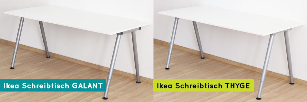 Ikea_Schreibtisch_Thyge_und_Galant_Unterschied