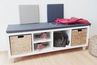 Ikea Kallax als Sitzbank - bequem und stylisch!