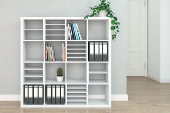 Ikea Kallax Fächer individuell unterteilen