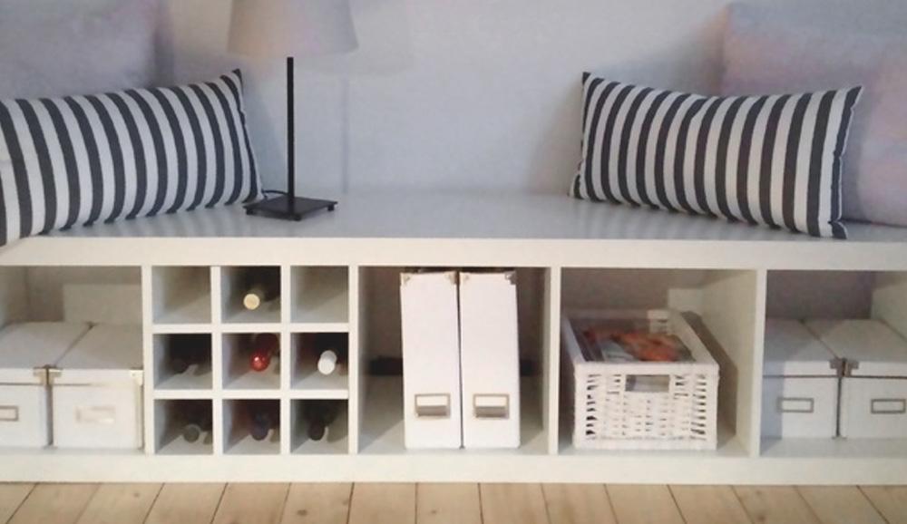 Deswegen brauchst du diesen Ikea Kallax Flascheneinsatz