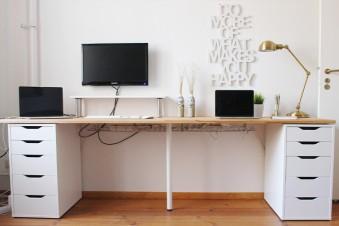 Stylishe Ikea Hacks für dein Homeoffice