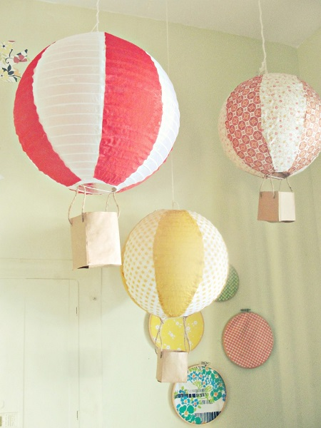 Heissluftballon_aus_Papierlampen