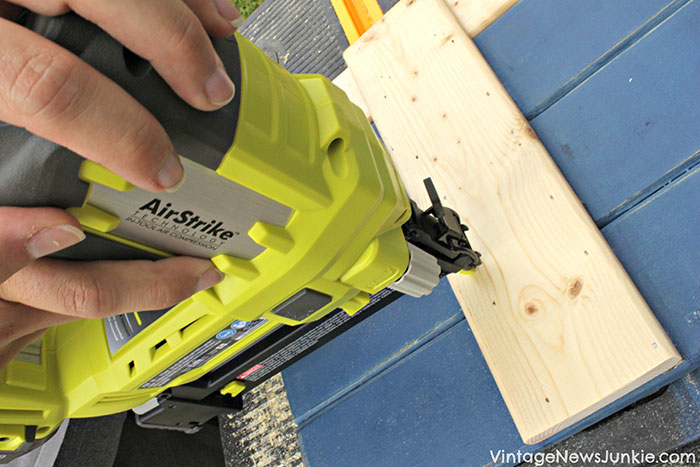 use-nailer-to-assemble-diy-shutters