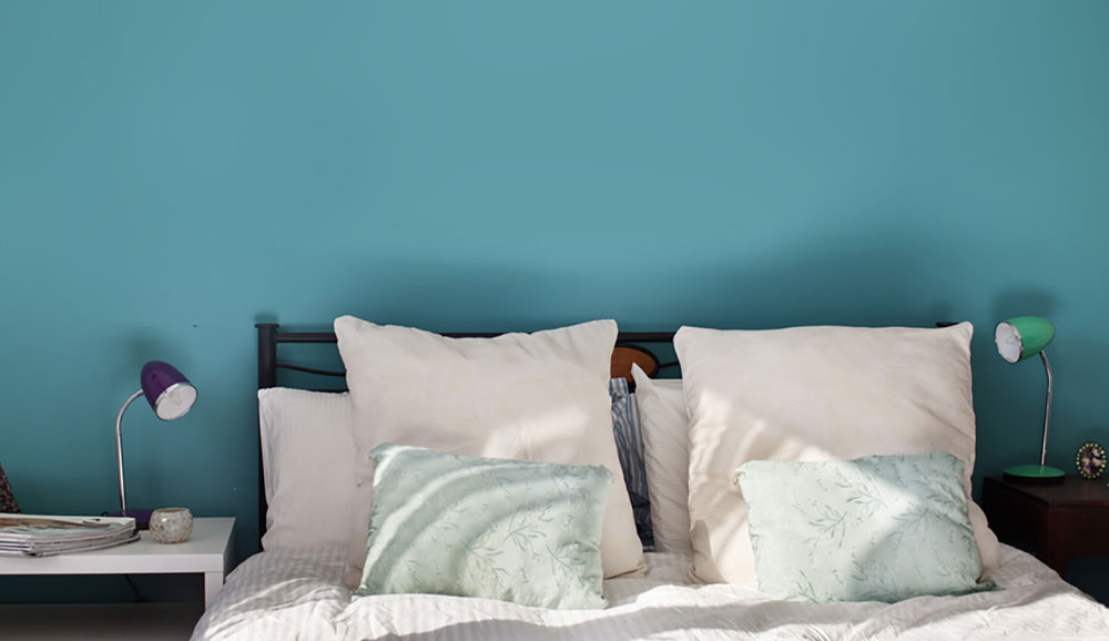 wandfarbe-schlafzimmer-blau