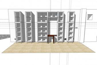 Kallax Hack: So baust du eine mehrteilige Regalwand aus Ikea Regalen