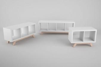Kallax Untergestell aus Holz