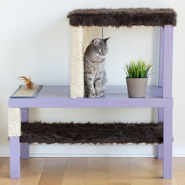 Katzenbaum_Ikea_Lack_Tisch