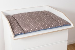 jetzt die neuen wickelaufs tze f r die malm kommode. Black Bedroom Furniture Sets. Home Design Ideas
