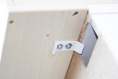 Sicherung Wickelbrett von Ikea Malm Kommode