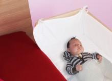 Baby Beistellbett Lilledroem mit Nestchen