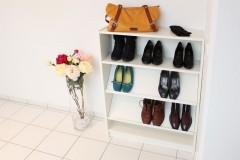Billy Regal mit Schuhfächern ausgestattet