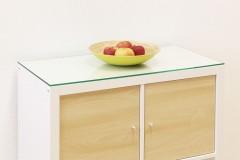 Ikea Kallax Regal Glasplatte