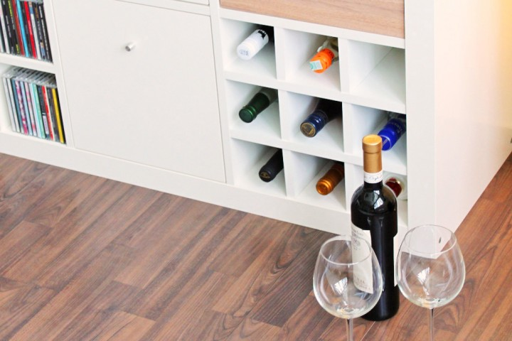 wohnzimmer regal ikea:IKEA Expedit Wine Rack