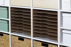 Expedit Regalfachteiler für Kunstpapier