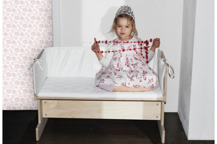 ikea kinderbett als beistellbett. Black Bedroom Furniture Sets. Home Design Ideas