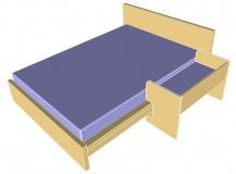 LILLEDROEM und Malm Bett