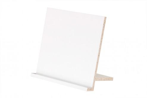 Prospekthalter für Expedit Regal in weiß