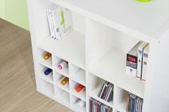 Kallax Regal mit Regaleinsätzen von New Swedish Design