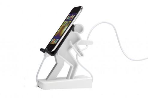 Kabel- und Smartphonehalter Boris