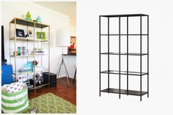 Glamouröser Blickfang im Wohnzimmer – IKEA Regal pimpen