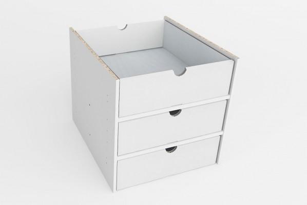 Kallax Schubladen aus Karton