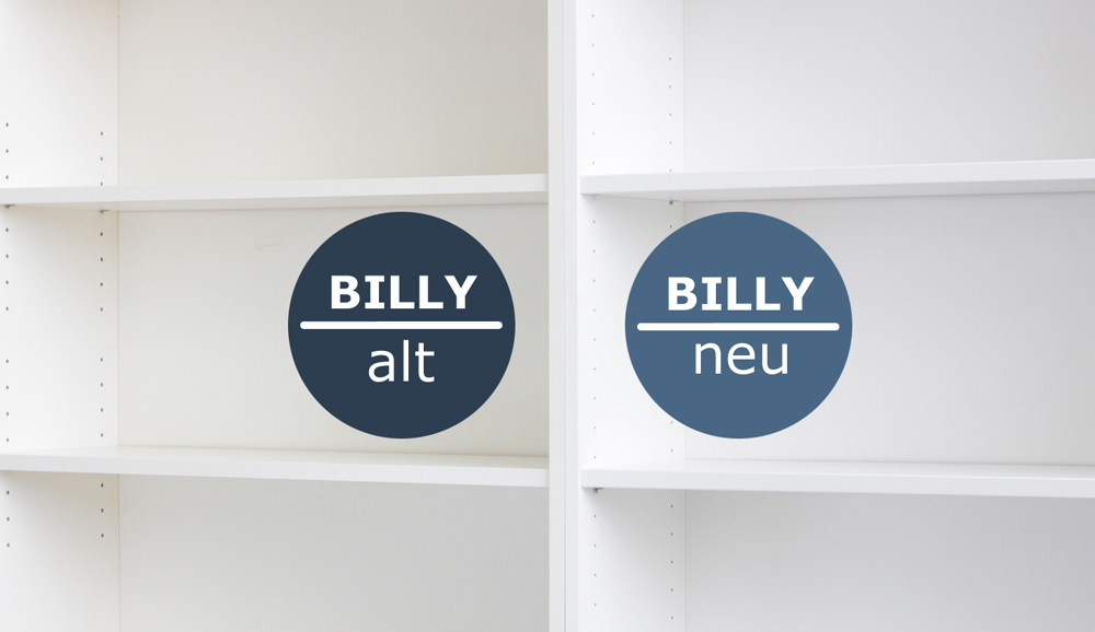 Das ändert sich beim Ikea Billy Regal | New Swedish Design