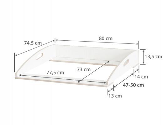 Maße für die Ikea Nordli Kommode ab 2018