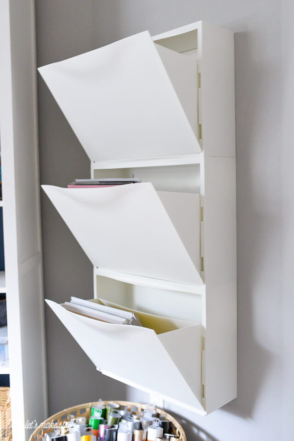 Die Besten Scrapbook Storage Hacks New Swedish Design