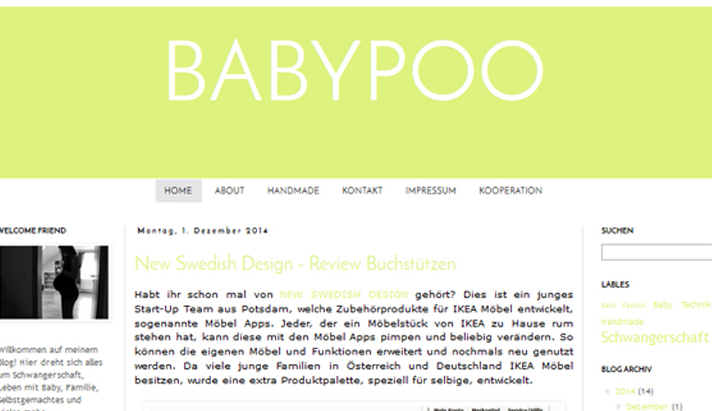 mamablog babypoo ber m bel apps und stylische buchst tzen blog new swedish design. Black Bedroom Furniture Sets. Home Design Ideas