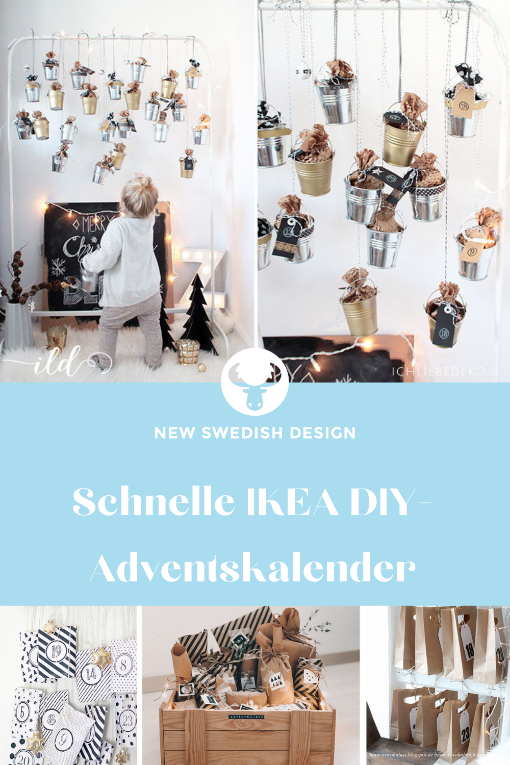 Schnelle Ikea Hack Diy Adventskalender New Swedish Design
