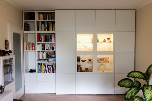Der perfekte ikea hack f r dein wohnzimmer new swedish - Schrankwand ikea ...