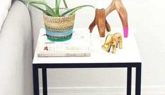 Dein Ikea Beistelltisch in einem neuen Gewand mit unserem DIY Tutorial