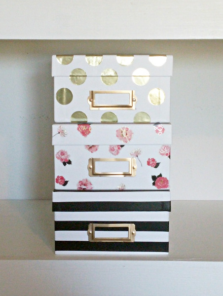 Kate_Spade_Inspired_Storage_Boxes