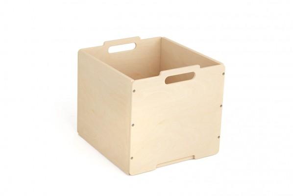Kallax Holzbox ohne Rollen