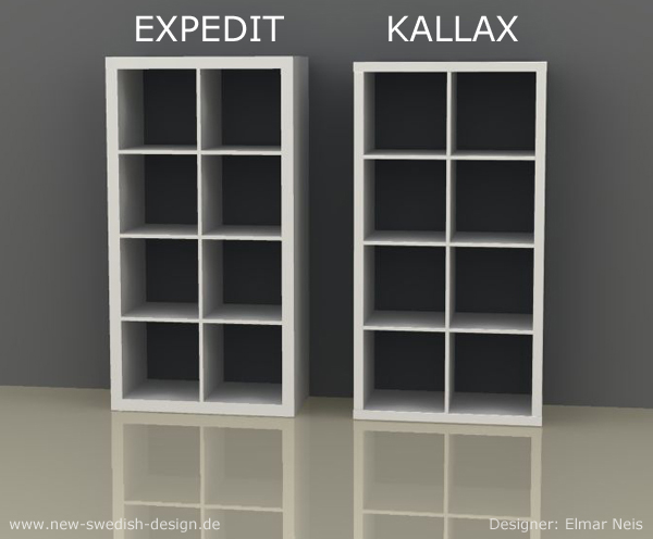 Regal ikea expedit  Das Ikea Kultregal verändert sich! | New Swedish Design
