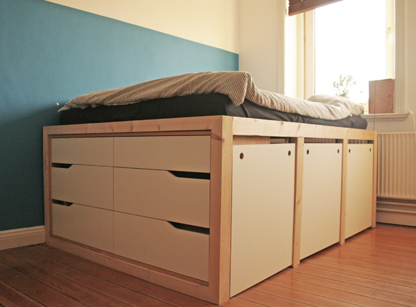 Ikea hack bett  Der beste Ikea Bett Hack, den du je gesehen hast | New Swedish Design