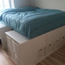 Kallax Bett bauen