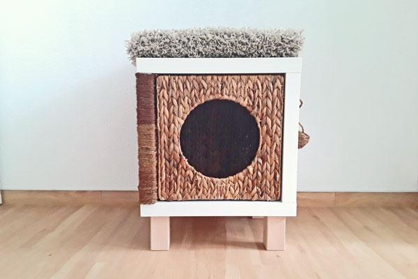 an diesem ikea hack hat nicht nur dein haustier tierischen. Black Bedroom Furniture Sets. Home Design Ideas