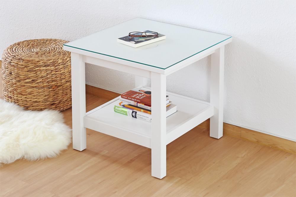 glasplatte f r deinen ikea hemnes beistelltisch new swedish design. Black Bedroom Furniture Sets. Home Design Ideas