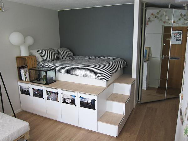 Ikea_Bett_Hack_Schraenke