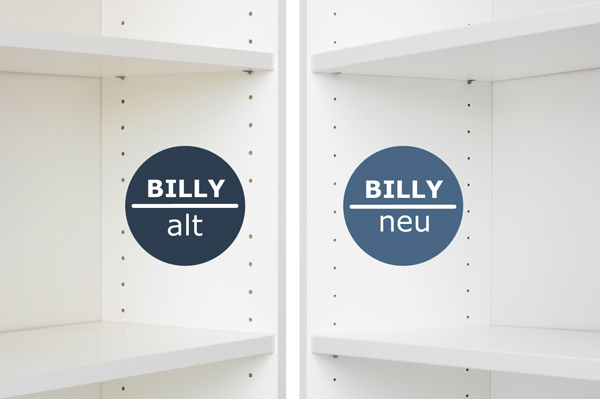 Ikea billy regal weiß mit türen  Das ändert sich beim Ikea Billy Regal | New Swedish Design