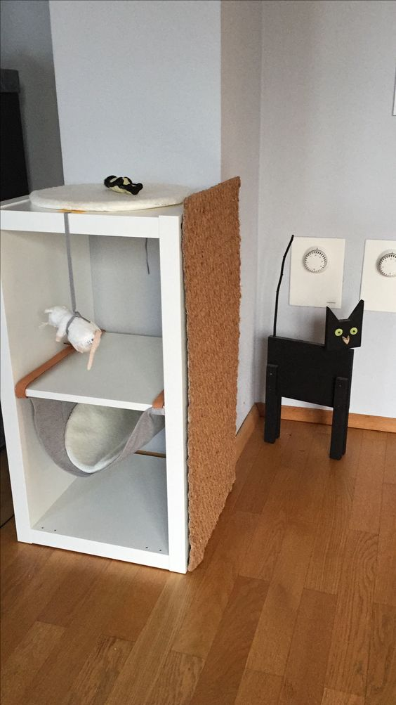2x1-Kallax-Kratzbaum-Ikea-Hack-Katze