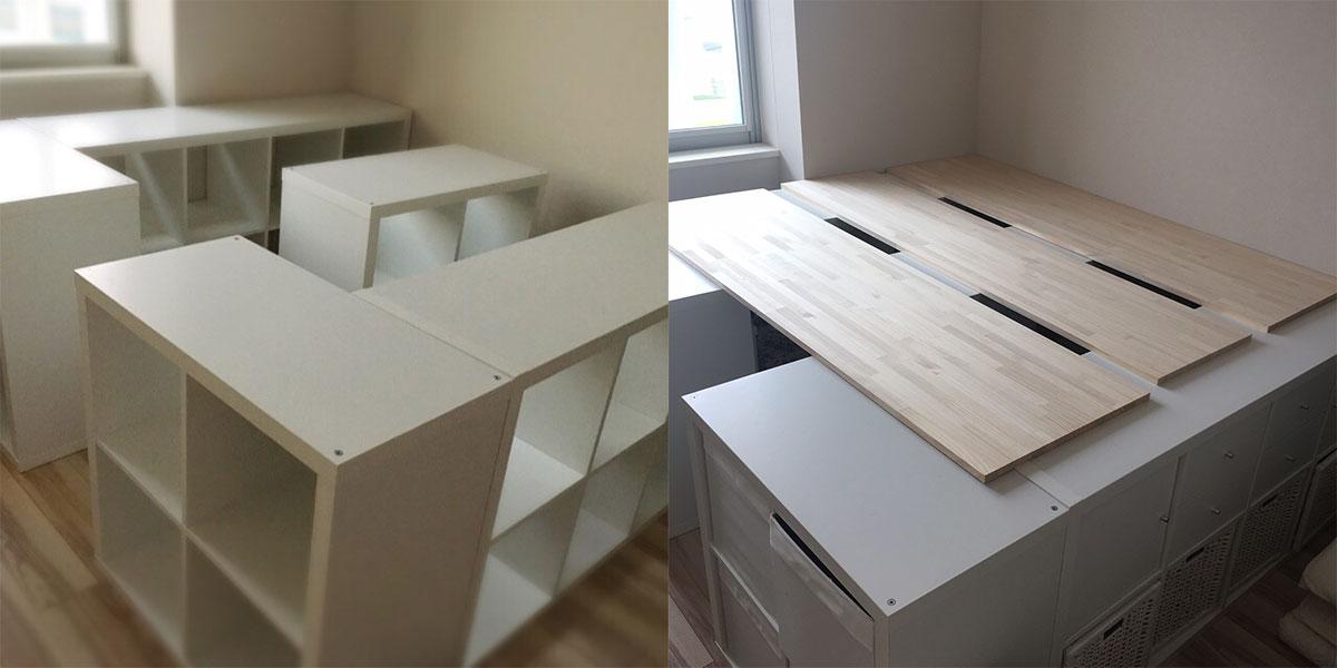 Kallax-Bett-bauen-Ikea-Hack