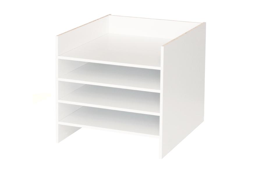 ELEGANT Postfach Einsatz für Ikea Kallax Regal (We