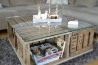 Kreative DIY Ideen aus alten Holzkisten