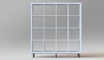 DIY: So einfach wird aus einem Kallax von IKEA ein edles Designer-Regal!