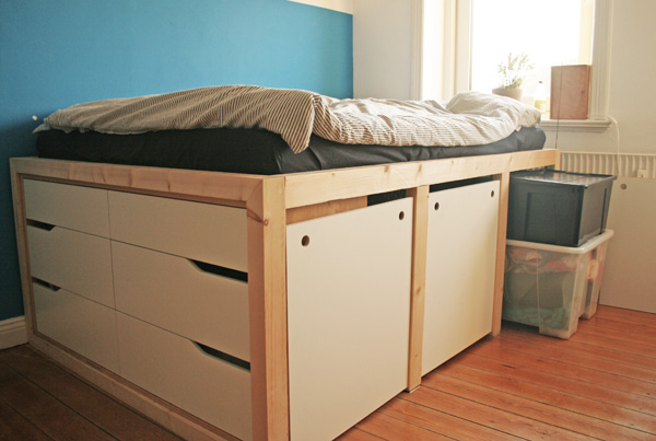 Der beste Ikea Bett Hack, den du je gesehen hast | New Swedish Design