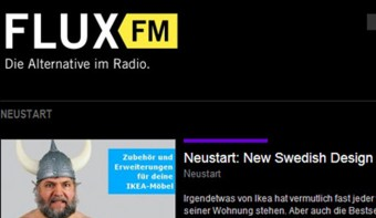 Radio-Interview bei FluxFM