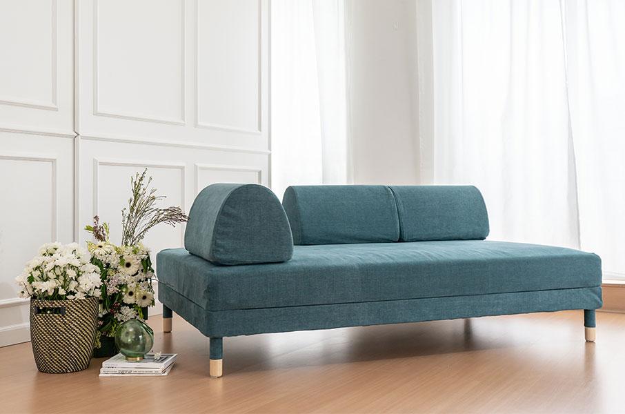 Ikea-Sofa-mit-neuem-Bezug